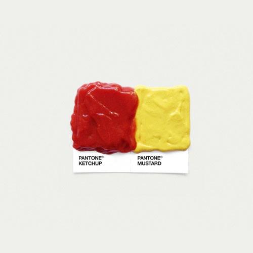 Color Palette Inspirations: Food Pairing Pantone via @chykalophia