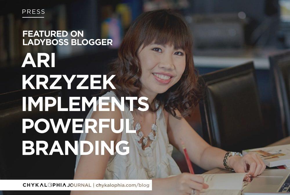 Featured: LadyBoss Blogger