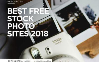Best FREE Stock Photo Sites – 2018