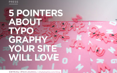 5 Pointers About Typography Your Site Will Love