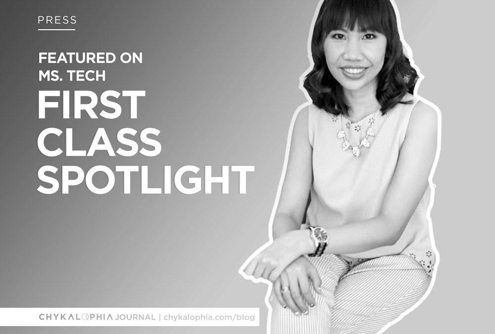 Featured: Ms. Tech First Class Spotlight