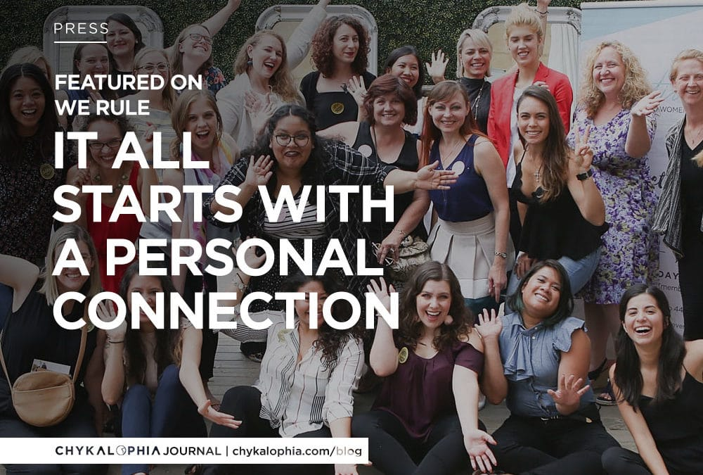 Featured: WE Rule United States Women Entrepreneur – It All Starts With A Personal Connection