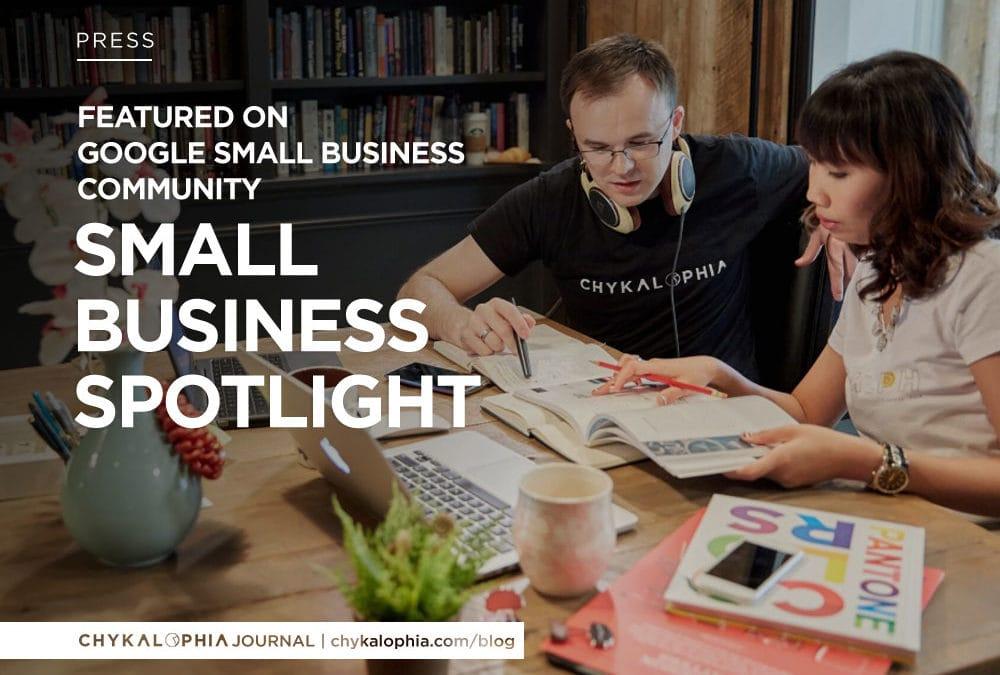Featured: Google Small Business Spotlight